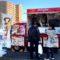 滋賀県「プラウドシティ八幡」店様へキッチンカーで出店!クレープ100食をご提供!