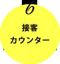 6.接客・カウンター|気になる!キッチンカーの 内装・外装・仕組み