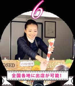 出店場所のご紹介サポート! 全国各地に出店が可能!カラーカフェグループでは数多くの企業様と提携しております。