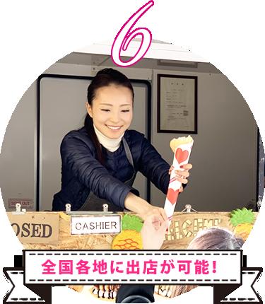 出店場所のご紹介サポート!全国各地に出店が可能!カラーカフェグループでは数多くの企業様と提携しております。