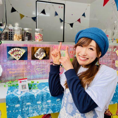 大阪府「梅田ロフト店」様でクレープ・タピオカドリンクのキッチンカーが出店!スイーツ専門♪