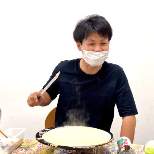 兵庫県神戸市でフランチャイズ店舗様が開業決定!移動販売のクレープ屋さん!開業研修中♪