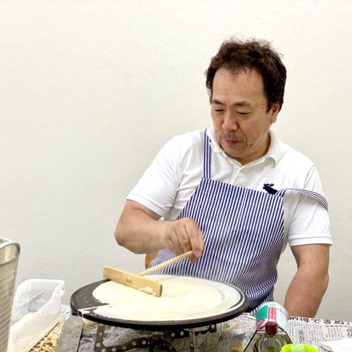 大阪府で移動販売のフランチャイズオーナー様が開業決定!クレープ屋さんで独立します!