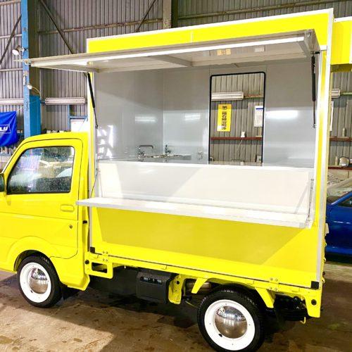 兵庫県でオープン!フランチャイズオーナー様のフードトラックが完成いたしました♪