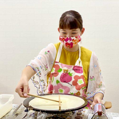 奈良県で開業が決定!フランチャイズオーナー様の開業研修!クレープ屋さんの移動販売です♪