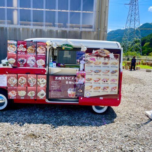 三重県フランチャイズ出店情報!「わんわんマルシェ」にてキッチンカーでクレープを販売!