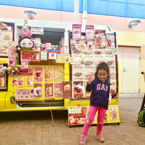 長野県フランチャイズ出店情報!クレープのキッチンカーでアイシティ21様に出店!