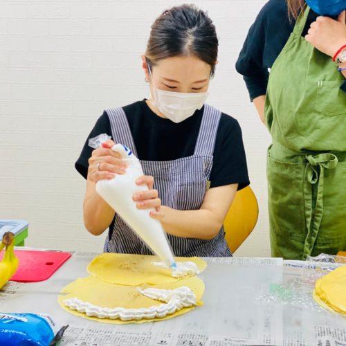 福井県でキッチンカーのクレープ屋さんを開業!統括マネージャーがしっかり研修いたしました!