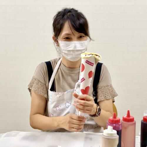 神奈川県でクレープの移動販売を開業!フランチャイズオーナー様のキッチンカー研修!