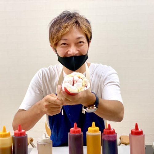 キッチンカーのクレープ屋さんが新潟県で開業決定!フランチャイズオーナー様の研修!